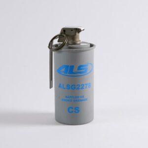 Baffled Triple Chamber Grenade in CS (ALSG2278CS) & White Smoke (ALSG2978W)