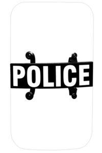 "Riot Body Shield Model BS-2, 20"" x 36"" x 0.150"""