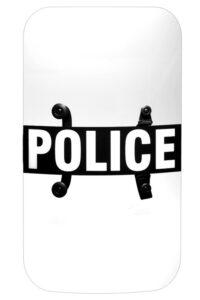 "Riot Body Shield Model BS-3, 24"" x 48"" x 0.150"""