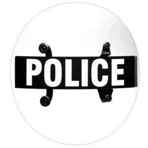 "Round Riot Body Shield Model BS-7, 24"" x 0.150"""