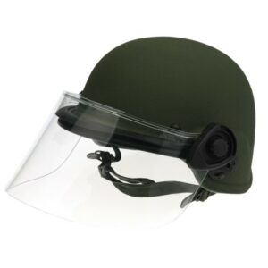  DK5-H.150HM - Hard mount riot face shield (mounting hardware included), 8 inch shield length