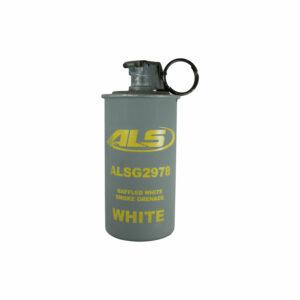 Baffled Triple Chamber Grenade in White Smoke (ALSG2978W)