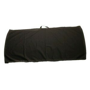 """BS-2448-COV - Protective black nylon fabric cover for riot/capture shields that measure 24"""" x 48"""""""