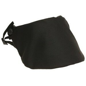 """DK5/6-COV - Protective black nylon fabric cover for all 8"""" models of the DK5 and DK6 riot face shields"""