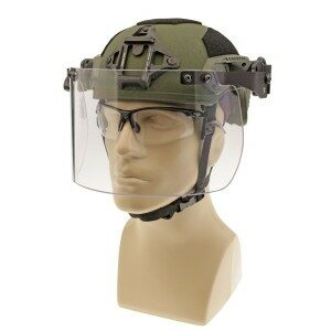 DK7-H.150-RC - Rail-Mount Face Shield, Ops-Core® Compatible