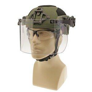 DK7-H.150-RU - Rail-Mount Face Shield, United Shield® Compatible