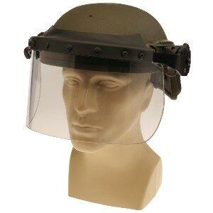 DK7-X.250AF-RCL - Rail-Mount Face Shield, Ops-Core® Compatible, Liquid Seal