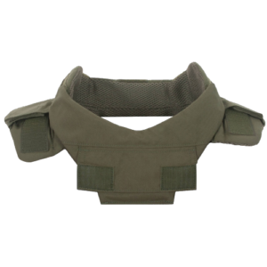 Collar Protector & Throat Protector (both with soft armor panels)