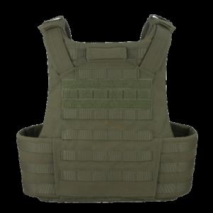 ATLAS T5 Extended Coverage Tactical Vest Back