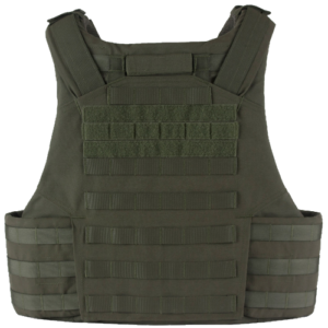 Atlas T7 Full Coverage Tactical Vest Back
