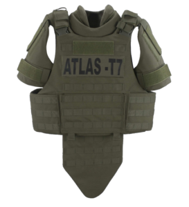 Atlas T7 Full Coverage Tactical Vest Front All accessories