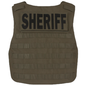 b. VFO Velocity Front-Opening Tactical Vest Back