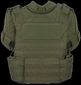 Quad Modular Tactical Vest Back