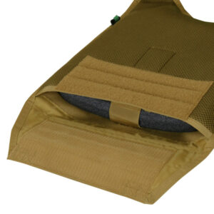 MOPC pocket for plate inserts