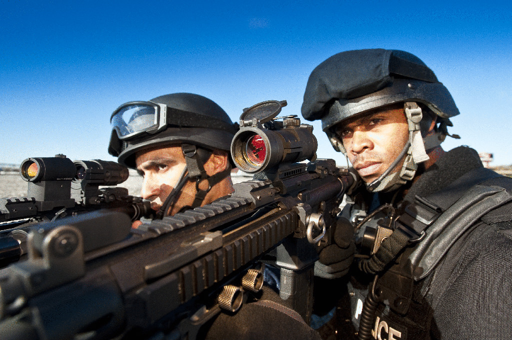 Aimpoint Patrol Rifle Optic and Magnifier