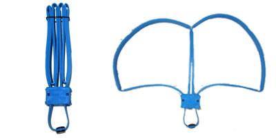 Reusable Blue Trainer Cobra Cuffs